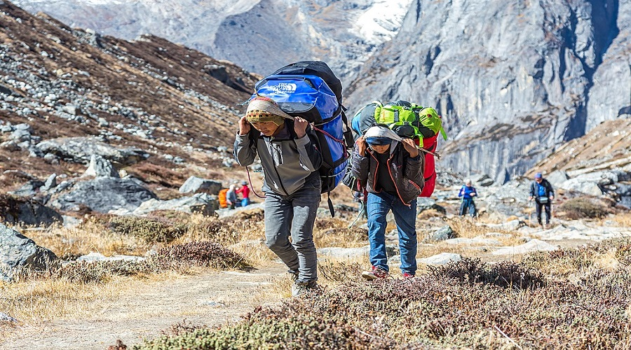 Trekking workers unhappy with NTB's job retention program