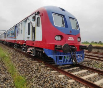Two sets of rail arrives in Janakpur (with Video)
