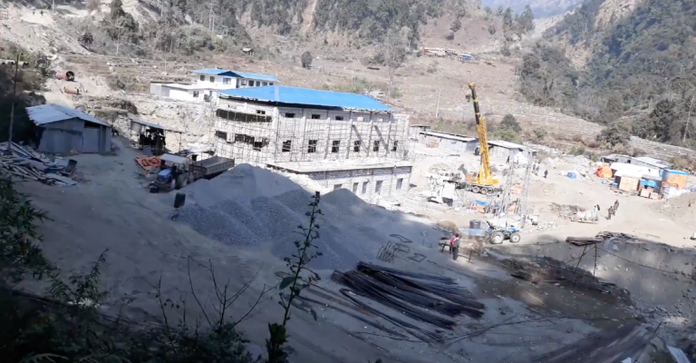 Construction of Upper Dordi 'A' halted as 27 workers test COVID-19 positive