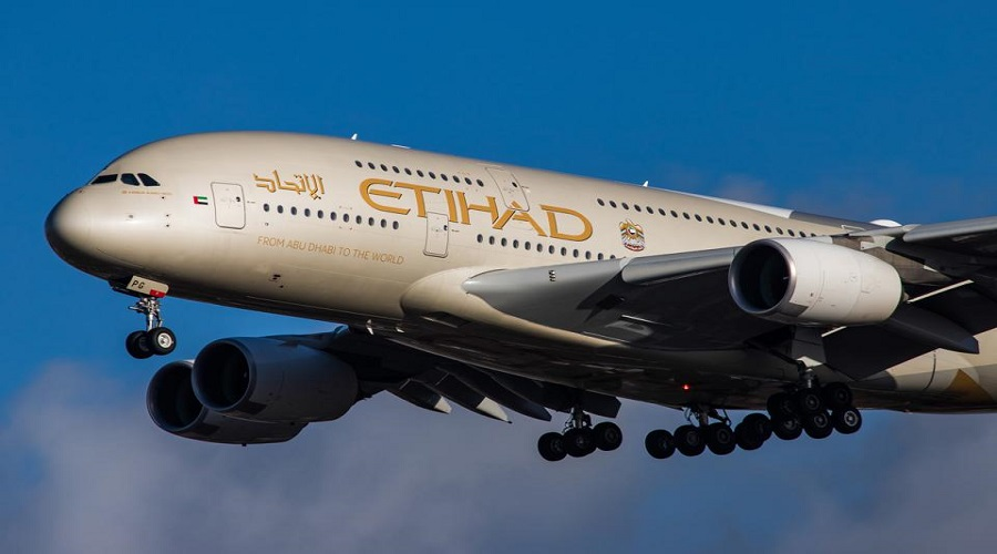 Etihad Airways suspends flight to Nepal
