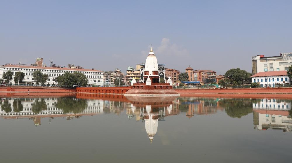 President inaugurates reconstructed Ranipokhari and Durbar High School