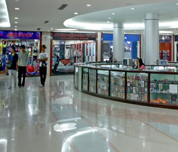 Despite offers and schemes shopping malls witness very few customers