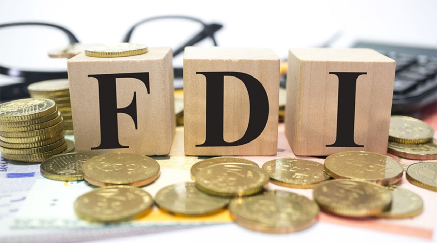 FDI drops by 3.3 percent in first month of current fiscal