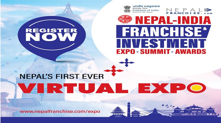 Nepal-India Franchise Expo, Awards and Summit to be held virtually on October 16-18