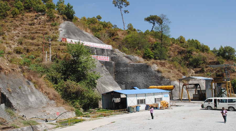 Tunnel test of Melamchi water project