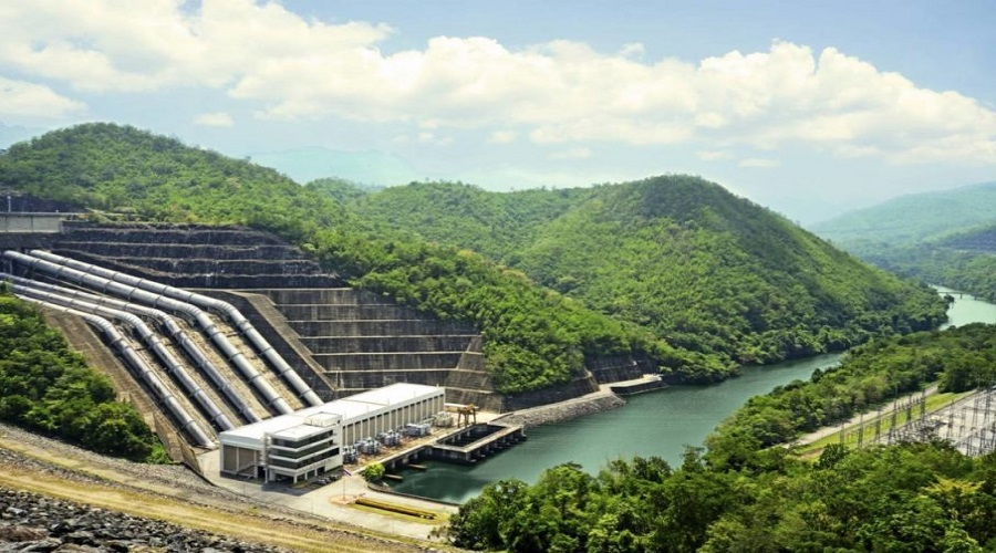 Workers halt construction works of 900-MW Arun III Hydropower Project