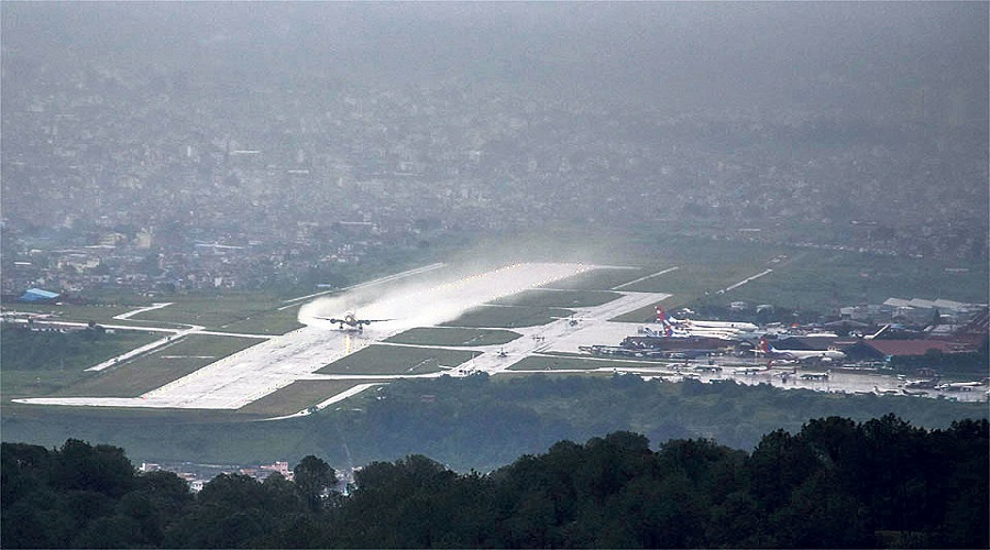 Poor visibility affects scheduled flights to & from TIA