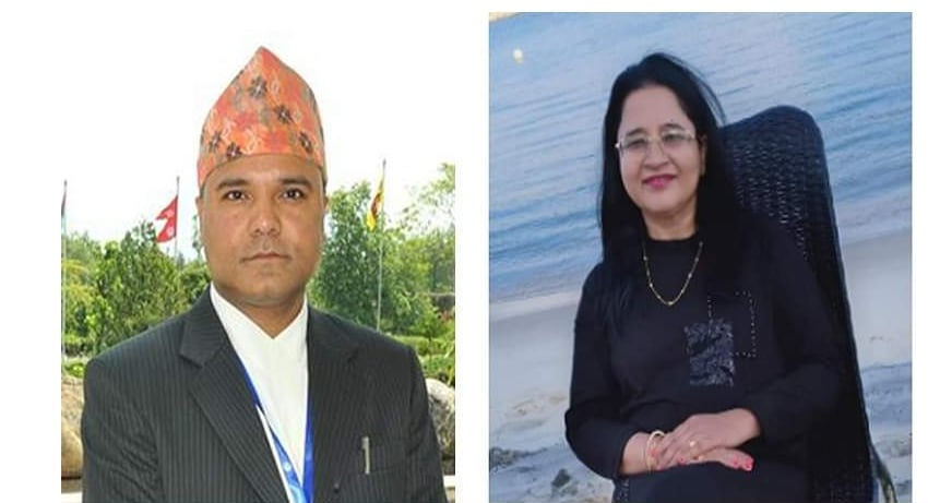 Neelam Timsina, Bam Bd Mishra appointed NRB's deputy governors