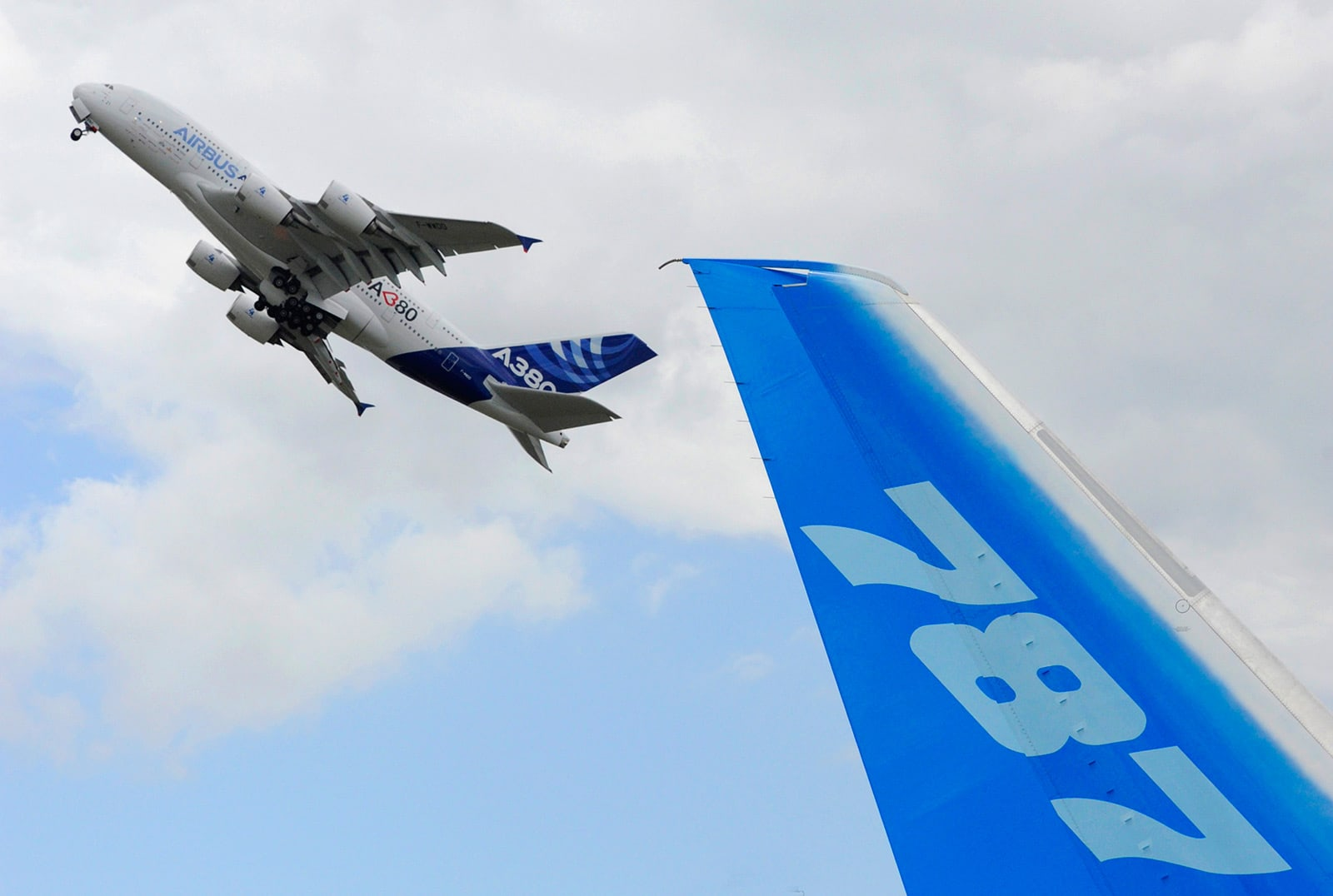 US and EU suspend tariffs in Boeing Airbus row