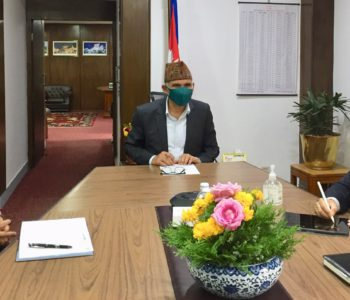 Finance Minister Poudel directs custom offices to facilitate import of medical goods