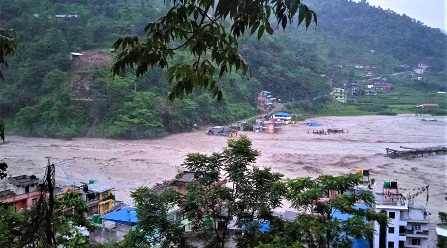 Nepali Army rescues 47 Melamchi drinking water project workers, 23 out of contact