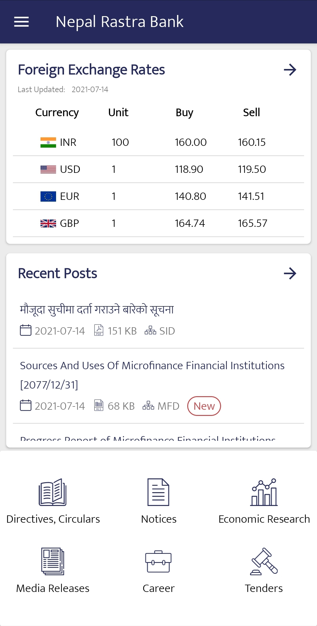 Central bank launches Nepal Rastra Bank (NRB) app